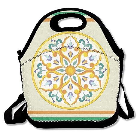 Bolsas de almuerzo circulares para niños y adultos, diseño ...