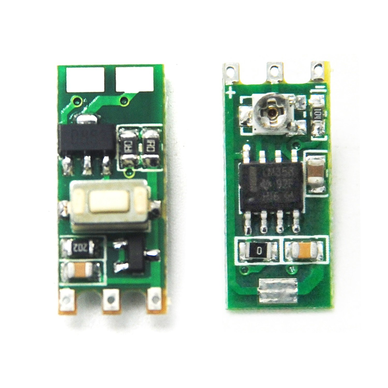 2pcs power supply driver board 3 45v for 532nm 650nm 780nm 808nm