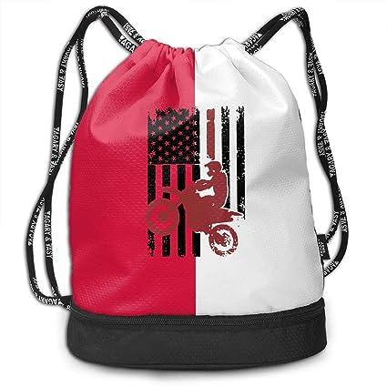 Amazon.com: ZeOi08@ Bandera de Estados Unidos Dirtbike ...