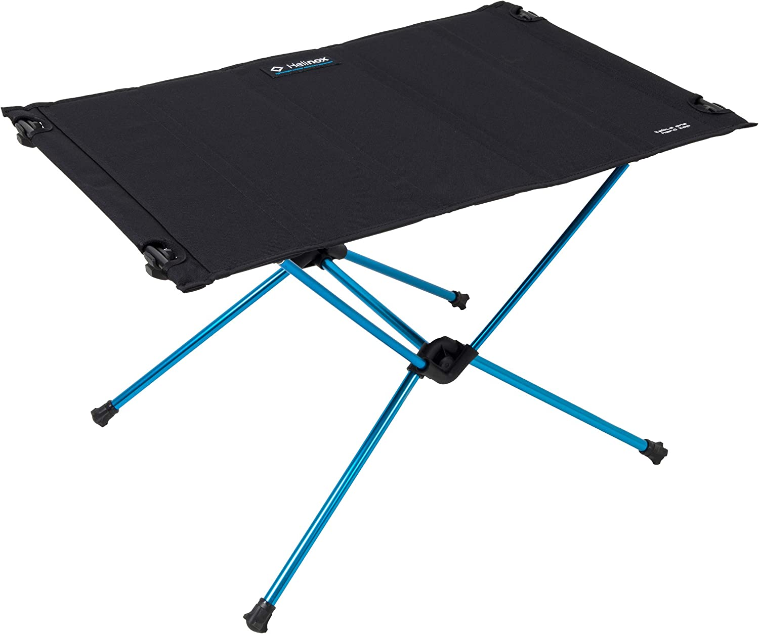 Helinox Table One Hardtop Lightweight, Collapsible, Portable, Outdoor Camping Table, Black