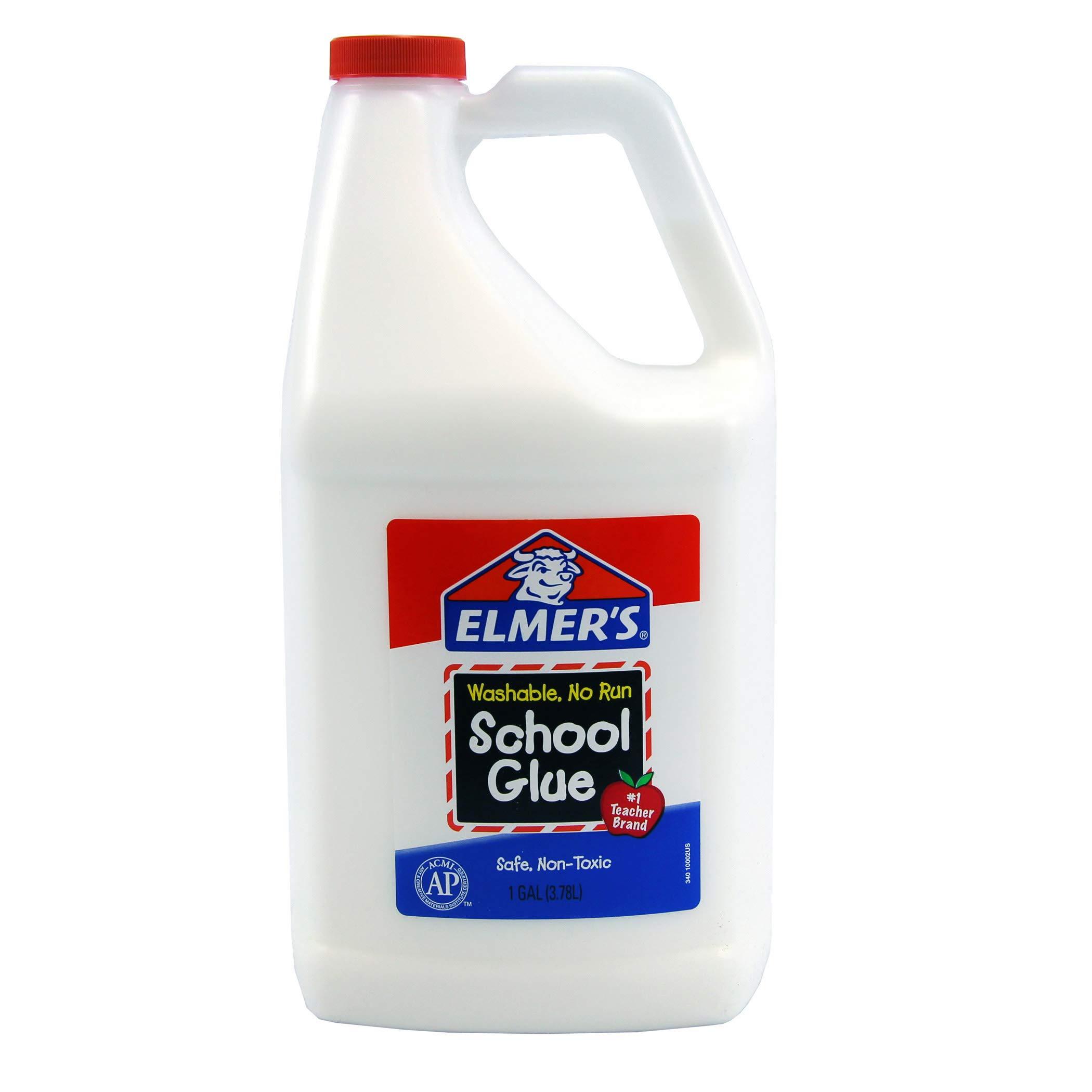 Elmer's BORE340 Washable School Glue, Gallon