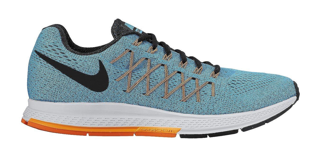 brand new fc4ad ab9b6 Nike Men s Air Zoom Pegasus 32 Blue Lagoon Bright Citrus Total Orange Black  15 D - Medium  Buy Online at Low Prices in India - Amazon.in
