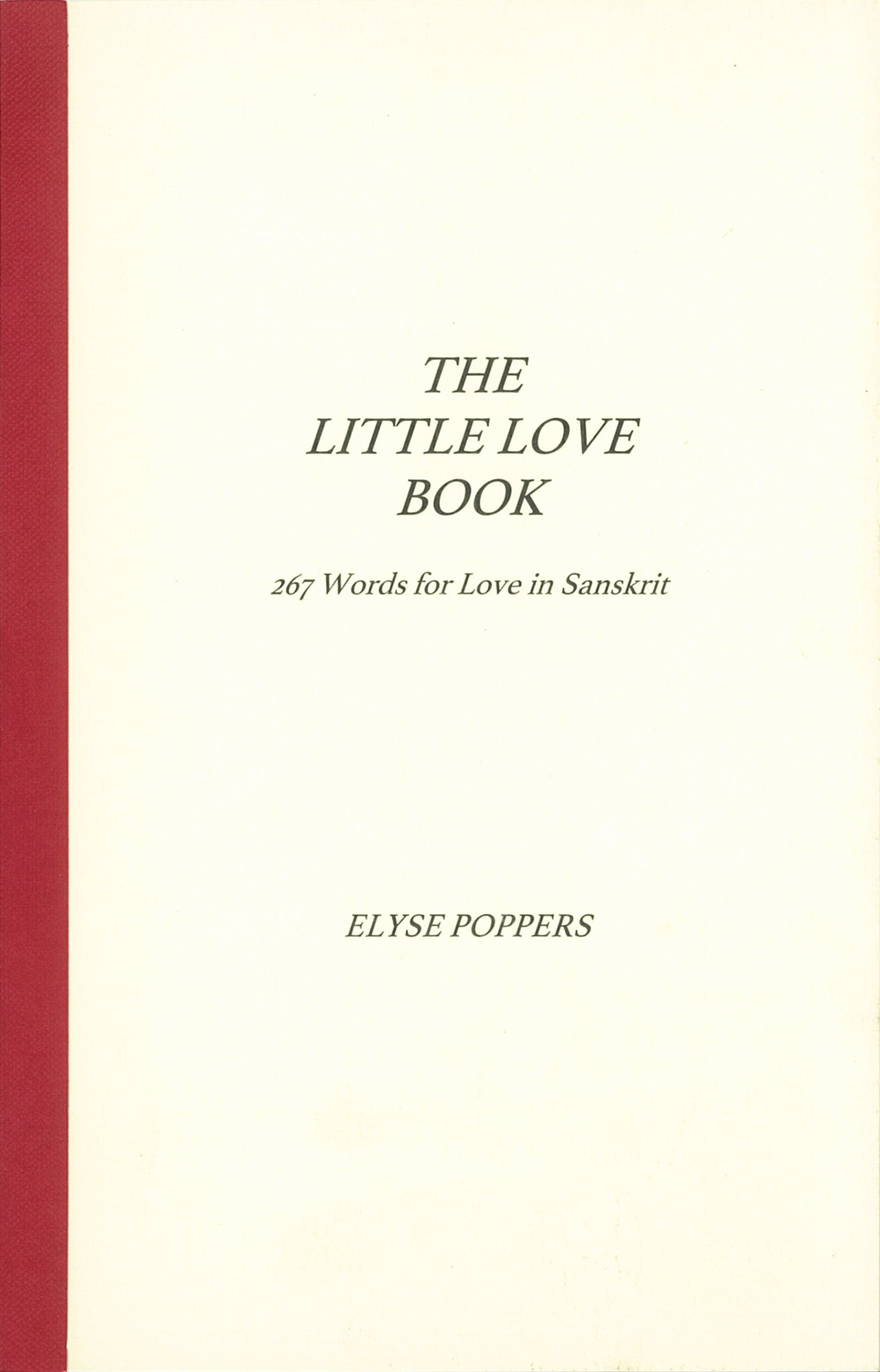 Amazon in: Buy The Little Love Book: 267 Words for Love in Sanskrit