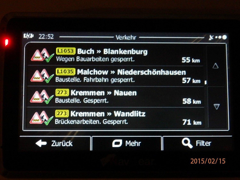 BUS,Wohmobil TMC,Bluetooth Gefahrgut Flash Kostenlos Map Update 7 Zoll Navigationsger/ät F/ür LKW,PKW Inkl 8GB AV-IN,256MB Sofort Lieferbar von Electronics Master/®