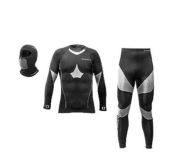 wisser® térmico de ropa interior Junior Set Función Ropa Interior untershirt + (con compresión