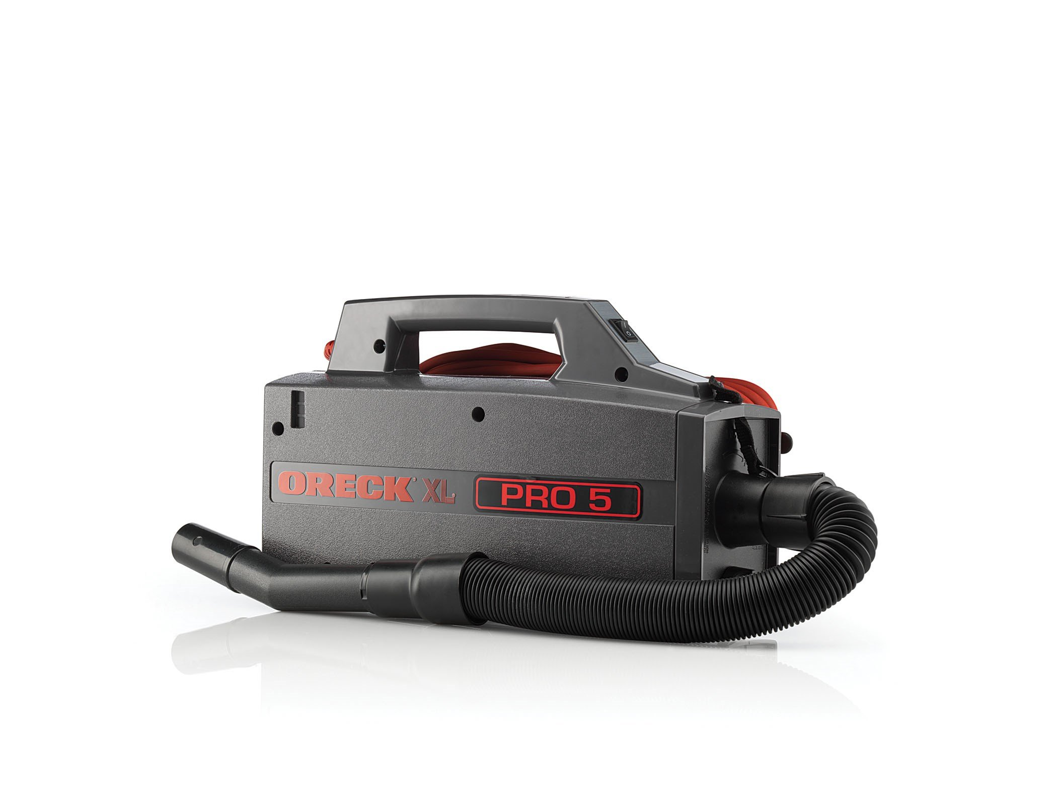 Oreck Commercial BB900DGR XL Pro 5 Super Compact Canister Vacuum with  Vacuum Disposable Bag (Pack of 25)