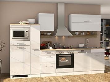 Küchenzeile Einbauküche Küche Küchenblock Küchen-Set Kochnische ...