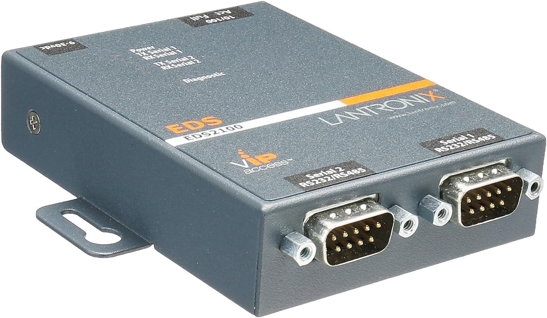 Lantronix ED2100002-01 Hybrid Ethernet Terminal New Multiport Device Server
