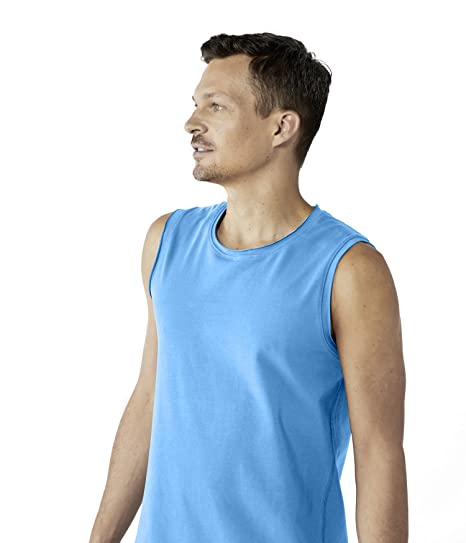 9981d1d5007958 Lotuscrafts Mens Yoga Tank Top Made From Organic Cotton - Fairly    Ecologically Produced - Sleeveless