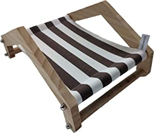 N\A PAWSINSIDE Elevated Small Animals Bed, Detachable Wood-Framed Elevated Cooling Pet Cot for Hamsters Chinchillas Guinea-Pigs
