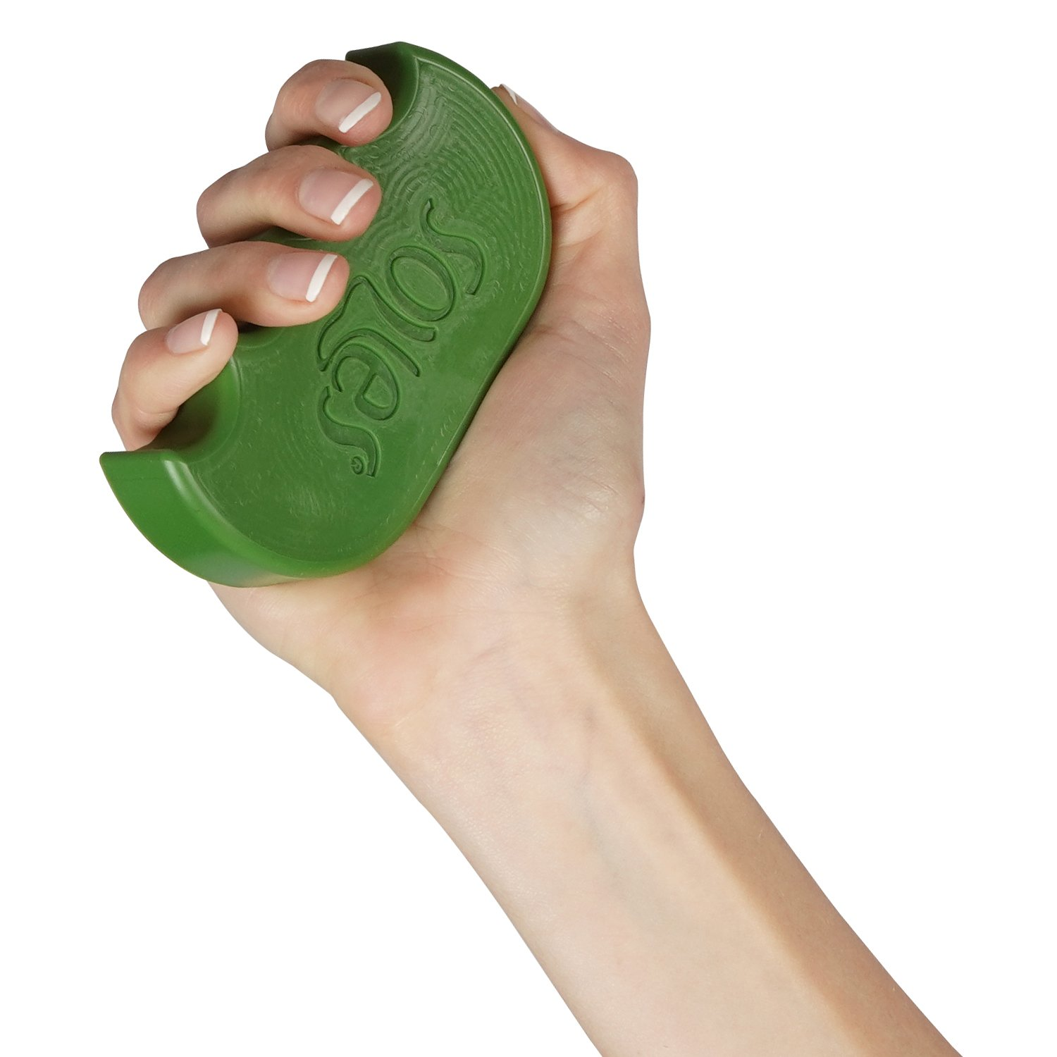 Soles Hand and Finger Strength and Rehabilitation Toy Green (Soft) (SLS521G)