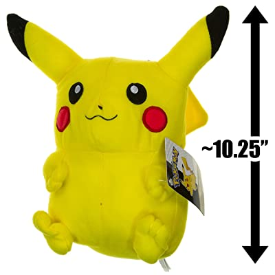 "Pikachu ~10.25"" Plush: Toys & Games"