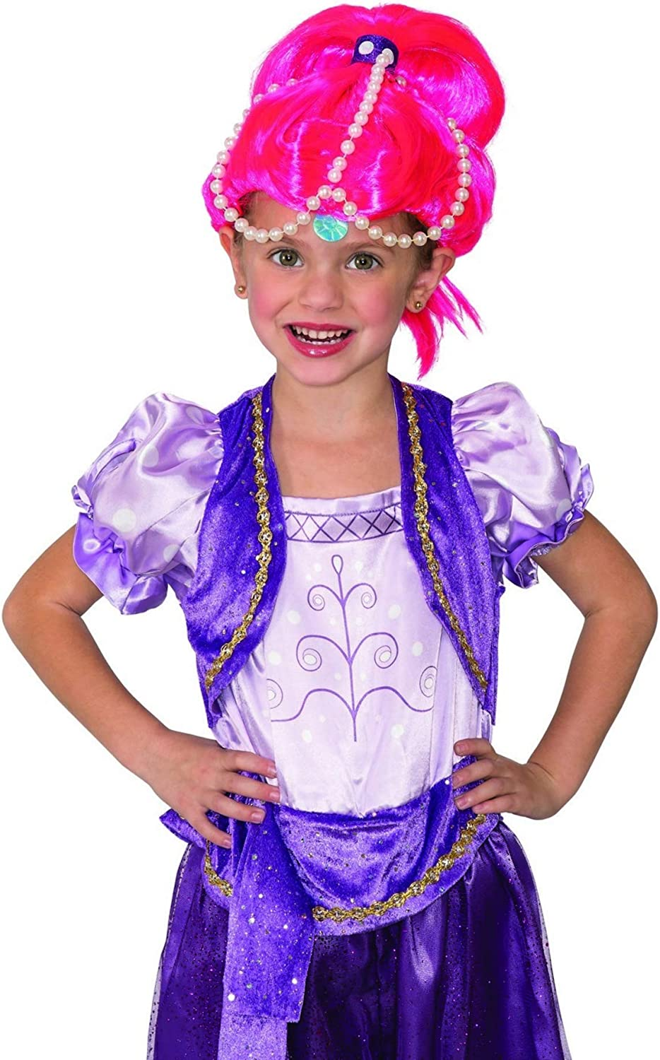 RubieS Shimmer & Shine ChildS Costume Wig, Shine: Amazon.es ...