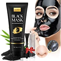 Blackhead Remover Mask Kit, Charcoal Face Mask Peel Off for Blackhead, Acne, Dirt, Purifying and Pores Shrinking, Deep…