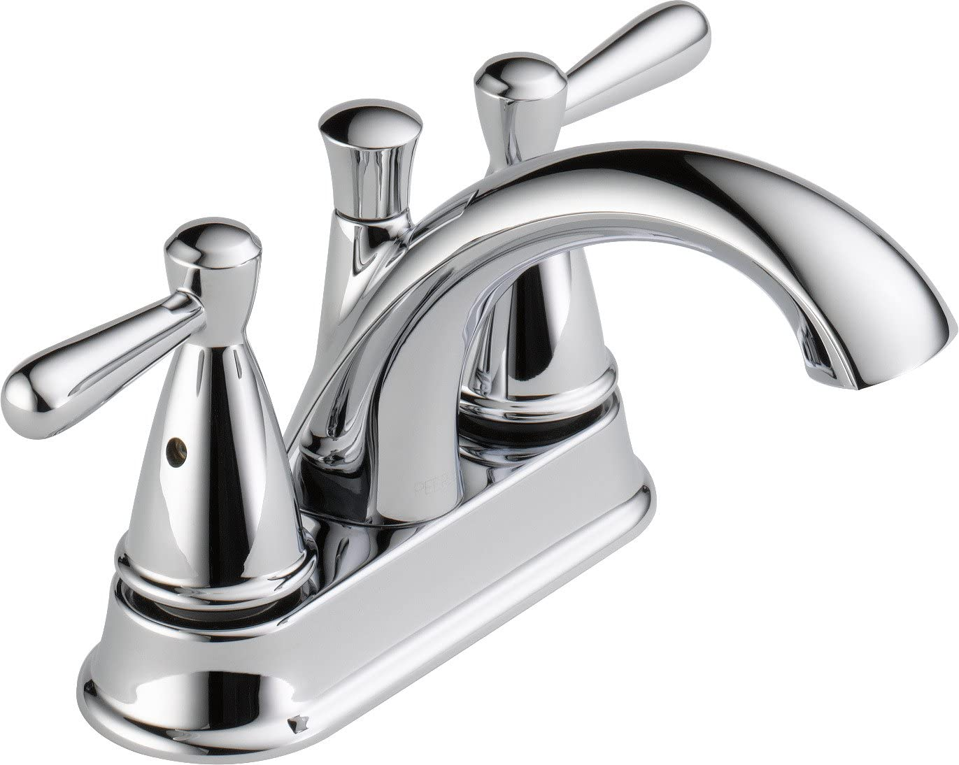 Peerless Bayside Centerset Bathroom Faucet Chrome, Bathroom Sink Faucet, Chrome P99640LF