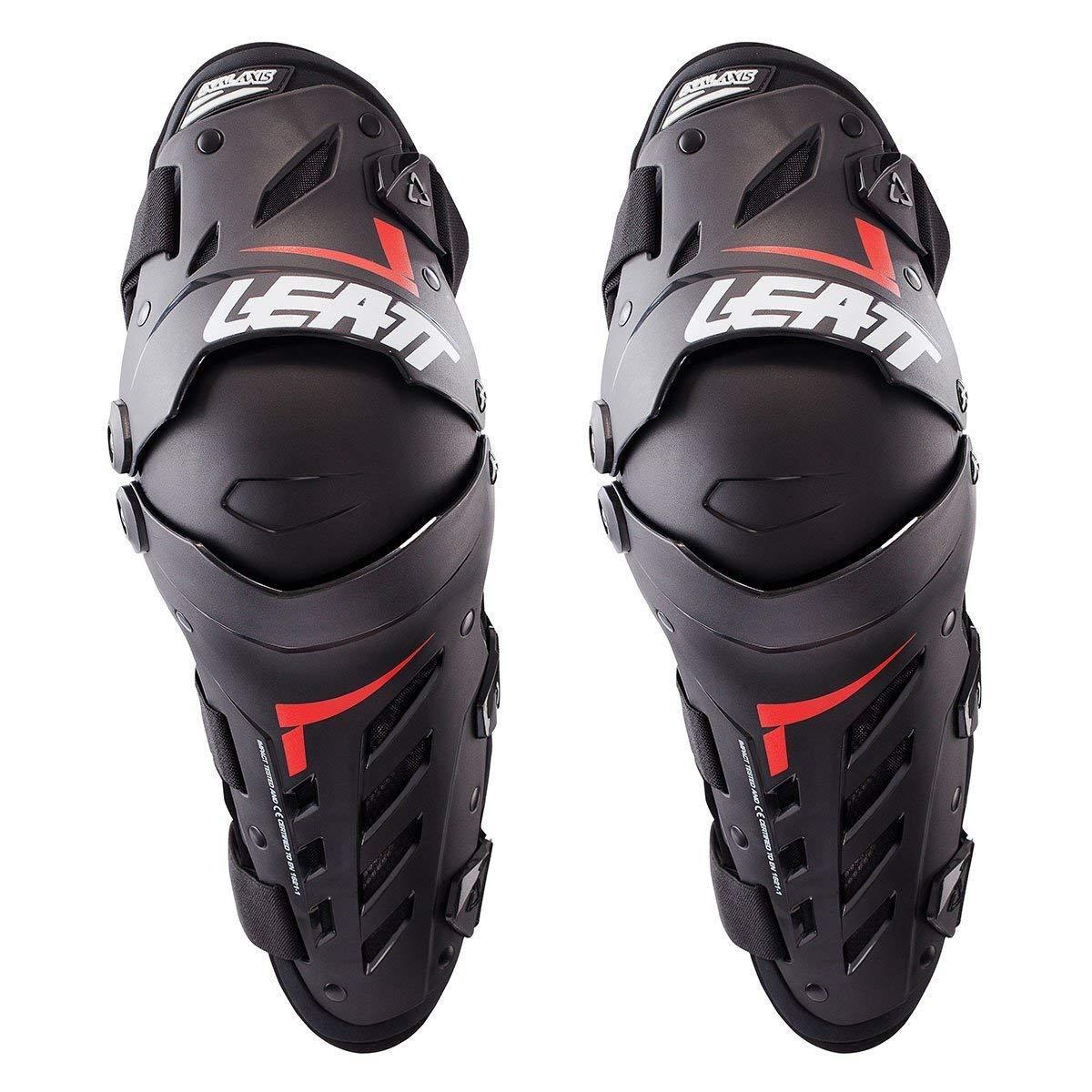 Leatt Black Small/Medium Knee & Shin Guard Dual Axis,1 Pack