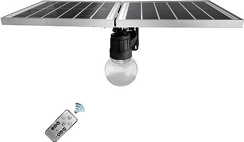 BestDrop Solar Street Flood Light Outdoor Wall LED Lamps Orb Garden All