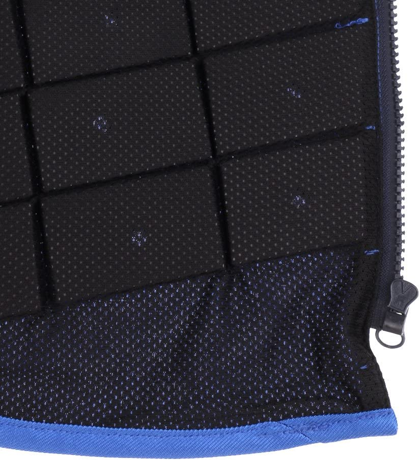 LEIPUPA Adult Kid Equestrian Protective Vest Horse Riding Vest Body Protector Guard Safety Waistcoat with Zipper Fronted EVA Padded Breathable Comfortable : Sports & Outdoors