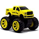 Monsto Monster Toy car (Yellow) Toy Cars, Gift for Boys, Gift for Kids,4x4 Drive, Toy Cars for Kids