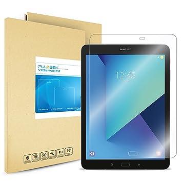 Protector de Pantalla Galaxy Tab S3 9.7, PULESEN® Protector de pantalla de vidrio templado