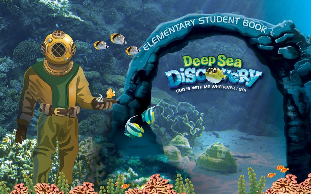 Elementary Student Book (Vacation Bible School (VBS) 2016: Deep Sea Discovery—God Is with Me Wherever I G) PDF