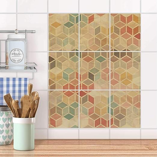 Piastrelle adesive Cucina Stickers da Parete | Adesivi per ...