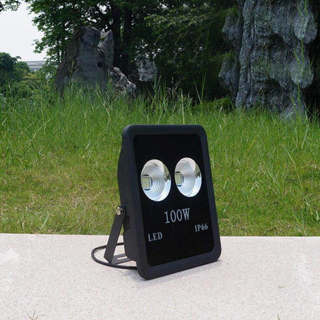 Aoligei LED proiettore esterno super luminoso spot luce multifunzione illuminazione 28358cm Luce bianca 100W