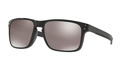 0df5e9ea086 Image Unavailable. Image not available for. Color  Oakley Holbrook Mix  Sunglasses Polished Black with Prizm Black Polarized ...