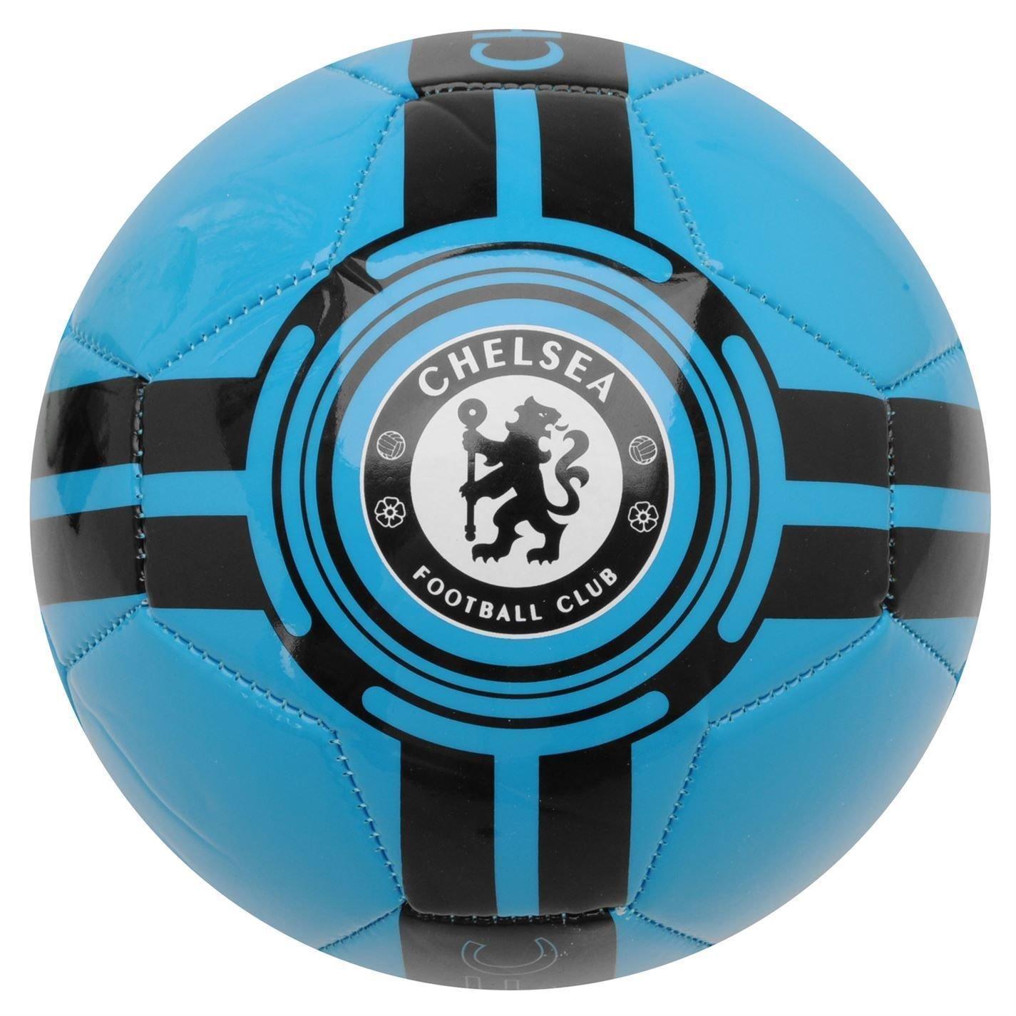 チームFluo Football Chelsea Fc EPL Bluesサッカーボールサイズ5 B010FBOLHG