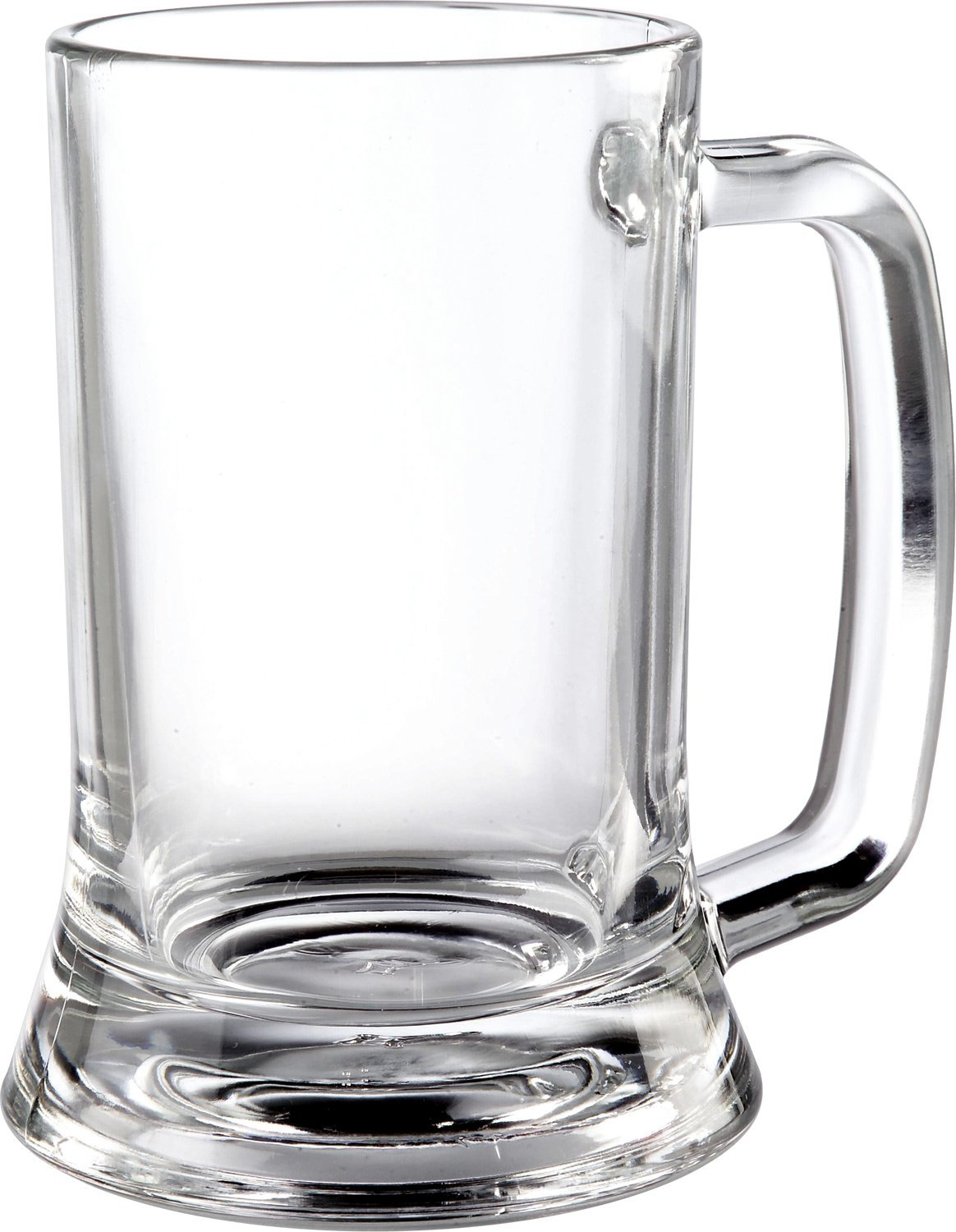 ITI 384 Tankard Beer Glasses, 10-Ounce, 36-Piece, Clear