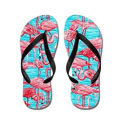 2af3d67120b3 CafePress - Flamingo - Flip Flops