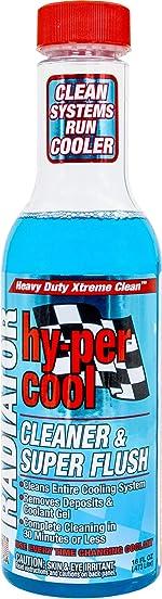 Hy-Per Lube HFL400 Hy-per Cool Radiator Cleaner & Super Flush -