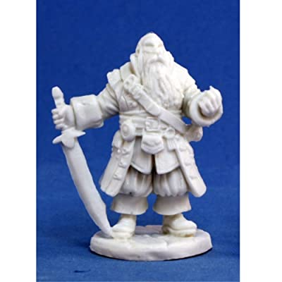 Reaper Barnabus Frost, Pirate Captain (1) Miniature by: Toys & Games