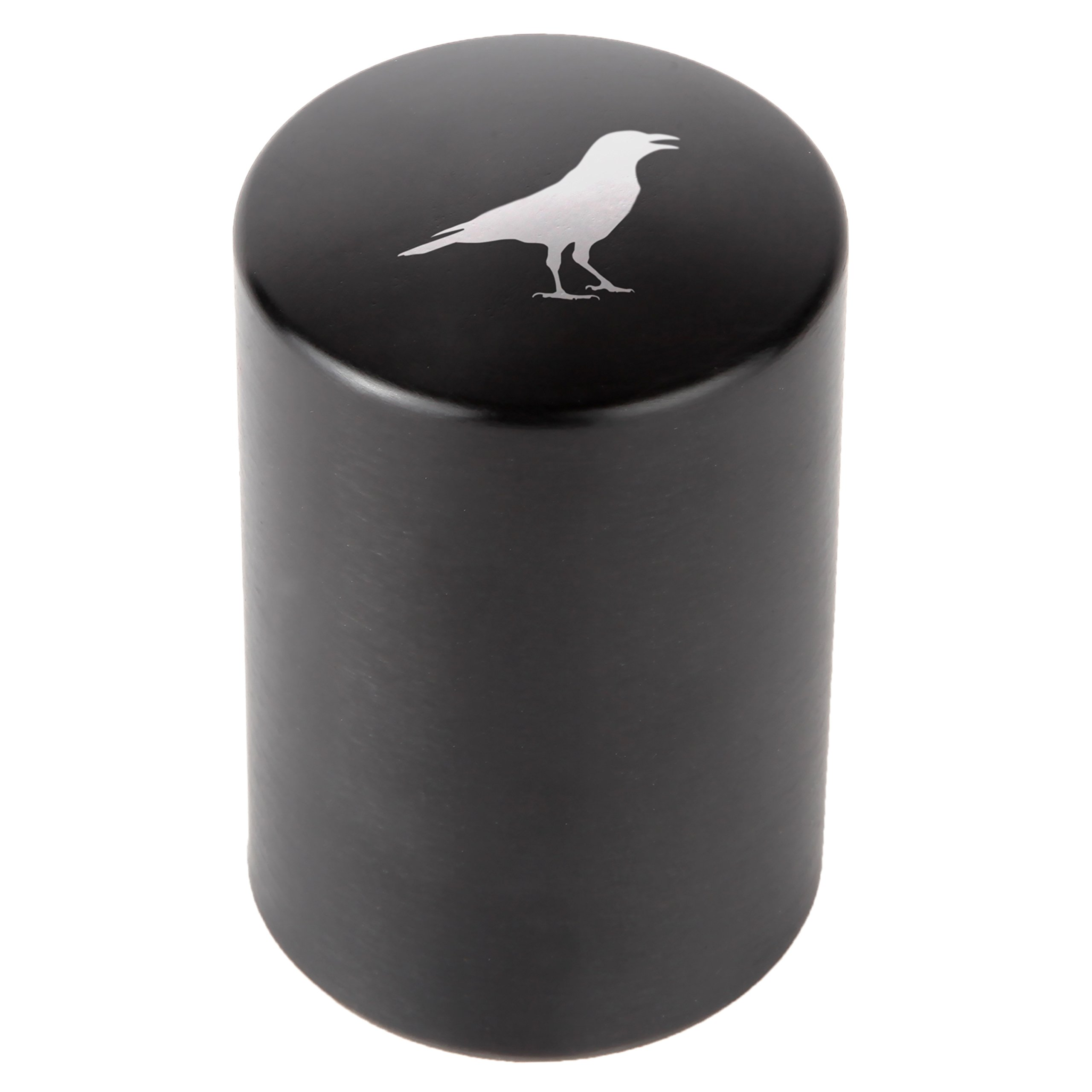 Crow Automatic Bottle Opener - Laser Etched Design - Bottle Opener With Catcher - Fast Bottle Opener For Parties, Events Or Everyday Use by Modern Goods Co