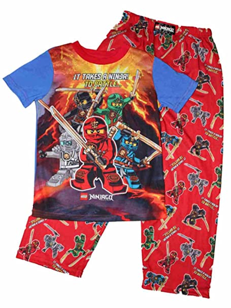 Amazon.com: LEGO Ninjago It Takes A Ninja To Battle Pajamas ...