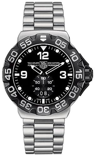 TAG Heuer WAH1010.BA0854 - Reloj de Pulsera Hombre, Acero Inoxidable, Color Plata: Amazon.es: Relojes