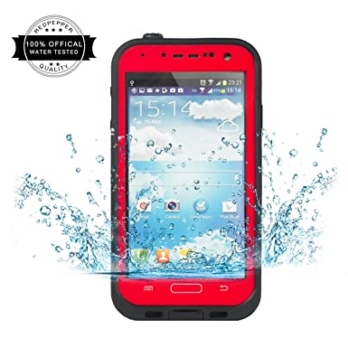 info for 750d5 09a3a Galaxy S4 Waterproof Case - Redpepper Samsung Galaxy S4 Water Resistant  Case, IP68 Shockproof Snow Rain Dirt and Dust Proof, Hard Protective Case  ...