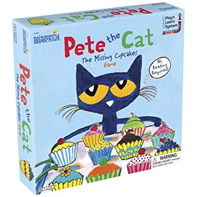Briarpatch Pete The Cat The Missing Cupcakes Game Based On The Popular Book Series: Toys & Games