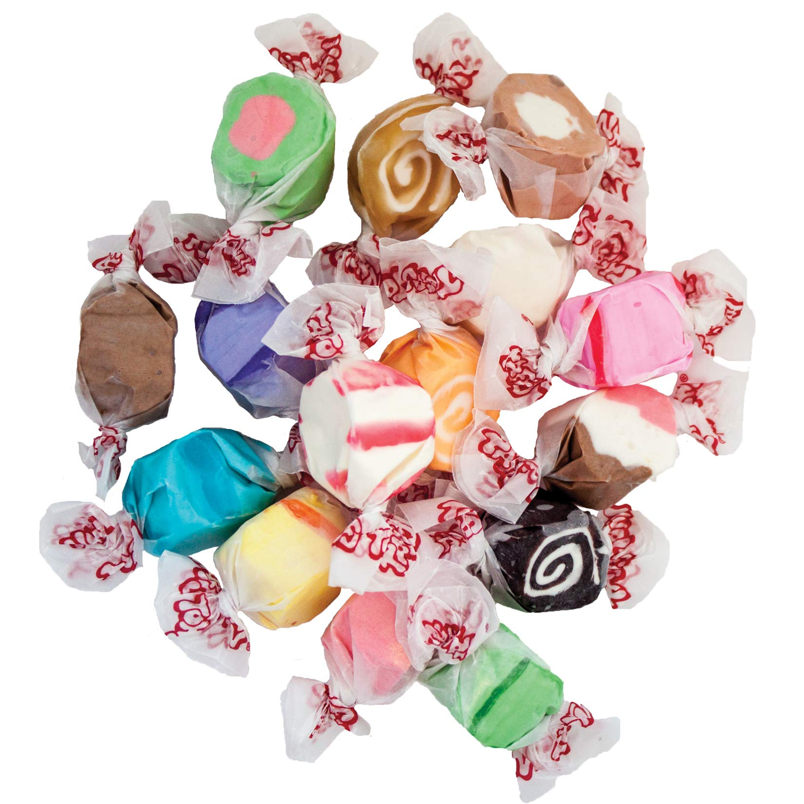 Taffy Town Salt Water Taffy, 5 LB Assorted Flavors by Taffy Town