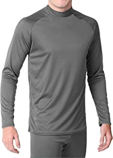 product image for WSI Microtech Form Fit Long Sleeve Shirt, Silver, Large