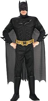 Rubies 880671 - Disfraz de Batman para hombre, Negro,Talla M ...