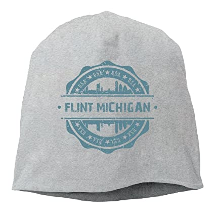 Amazon.com   Unisex Flint Michigan Knit Beanies Hat bb04fcd1e34
