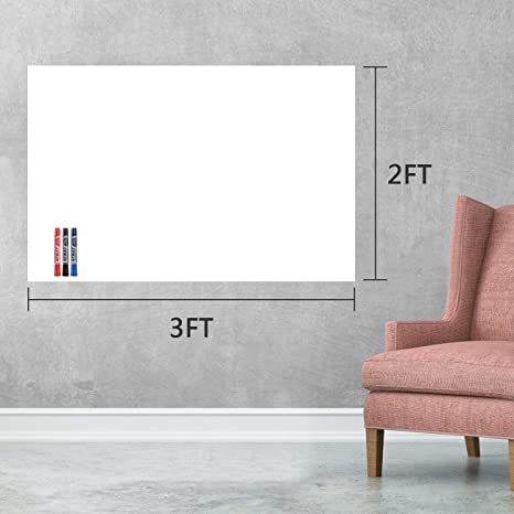 Dry Erase Paper 3x2 Ft Whiteboard Film Afmat Whiteboard Contact Paper Whiteboard Stickers For Wall Table Doors Dry Erase Wall Decals Adhesive