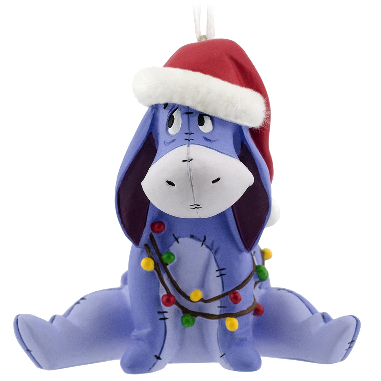 Amazon.com: Hallmark Disney Winnie the Pooh Eeyore Christmas ...