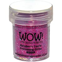WOW Raspberry coulis-Regular, Polvo de Repujado, 5x 3x