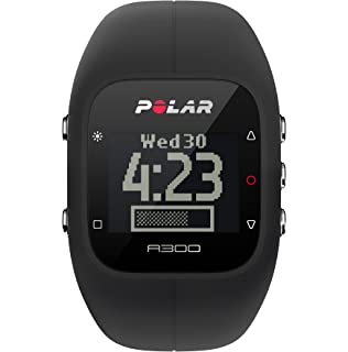 amazon com polar ft4 heart rate monitor watch silver black polar a300 fitness tracker and activity monitor