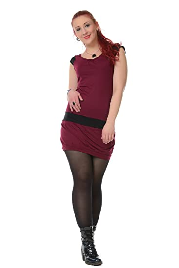 077bd03050fe 3Elfen Casual Summer Dresses for Women with Balloon Skirt Short Sleeve