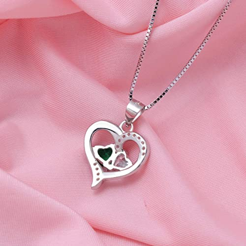 Forever Love Heart Necklace Personalized Name Gifts Happy Birthday Naomi