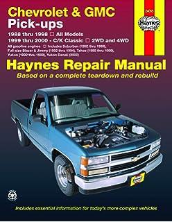 Chevy Silverado & GMC Sierra Pickups (99-06)(Does not