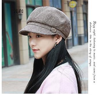 Novia novio regalos de vacacionesNovia novio regalos de vacaciones Las  mujeres Sra. otoño transpirable tapa domo placer femenino moda boina  sombrero gorra ... f402507875b